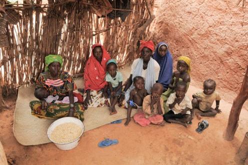 Nahrungsmittelkrise in der Sahelzone._©World VisionWorld Vision