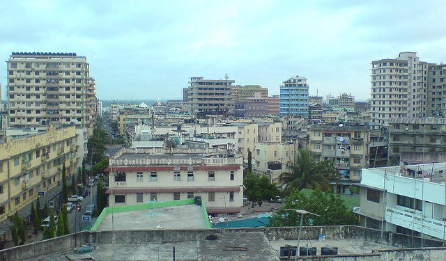 Skyline von Dar es Salaam in Tansania._©Ali Damji CC BY 2.0