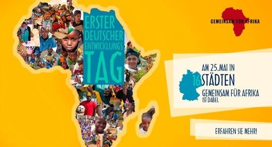 Gemeinsam für Afrika am DET