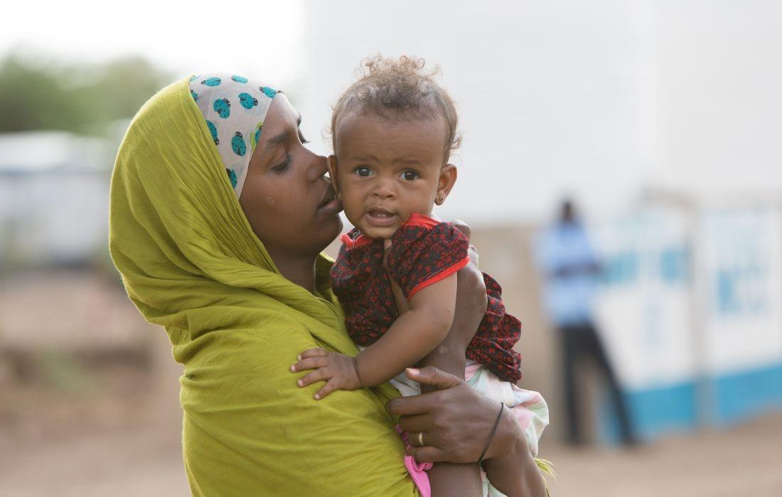 31.08.2015 Kenia, Kakuma. Besuch im Registration Center für neuankommende Flüchtlinge im Camp Kakuma.
