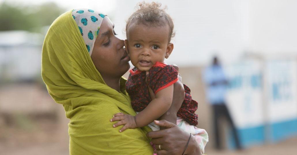 Dauerhaft Spenden: Besuch im Registration Center für neuankommende Flüchtlinge im Camp Kakuma. _©GEMEINSAM FÜR AFRIKA/Trappe