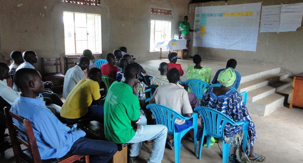 Workshop der Welthungerhilfe in Ogur._©Welthungerhilfe