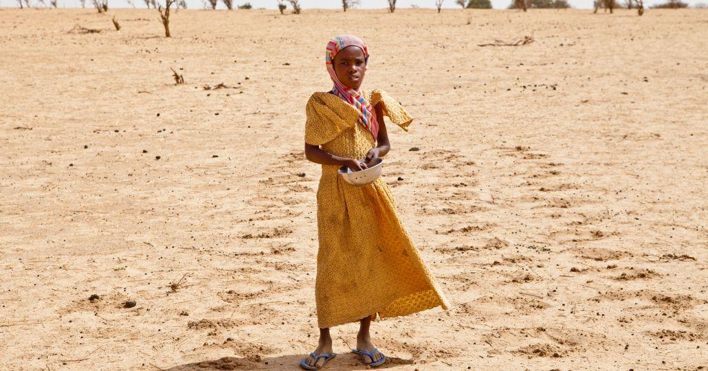 Sahelzone im Tschad.©Care/Brenda Bennon
