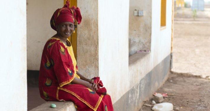Frau im Flüchtlingscamp Kakuma in Kenia._©GEMEINSAM FÜR AFRIKA/Trappe