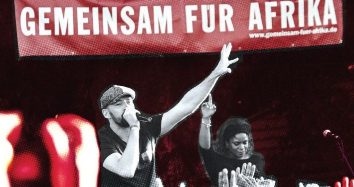 Gentleman MTV-Unplugged-Tour mit GEMEINSAM FÜR AFRIKA_©GEMEINSAM FÜR AFRIKA