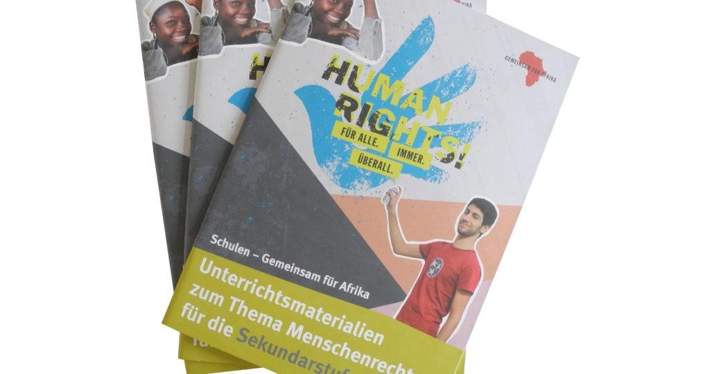Unterrichtsmaterialien Sekundarstufe Menschenrechte © GEMEINSAM FÜR AFRIKA