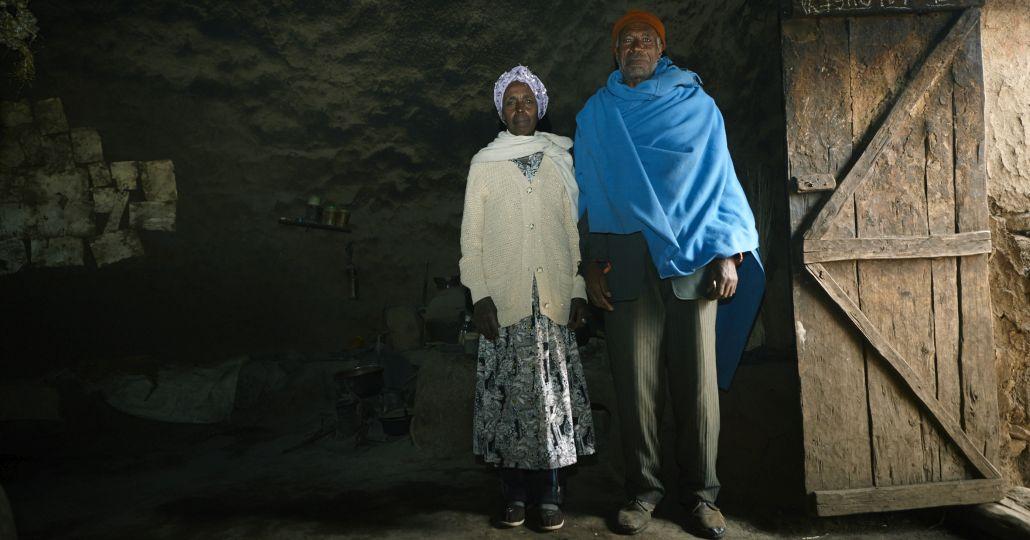 Kleinbauern in Äthiopien_©Foto: GEMEINSAM FÜR AFRIKA/Pascal Bünning