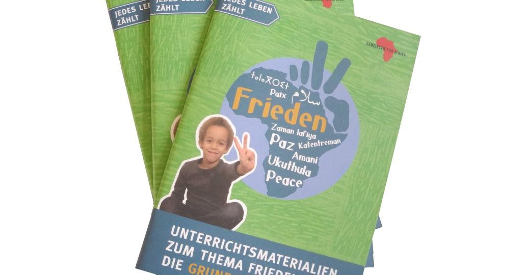 Unterrichtsmaterialien Grundschule Frieden © GEMEINSAM FÜR AFRIKA
