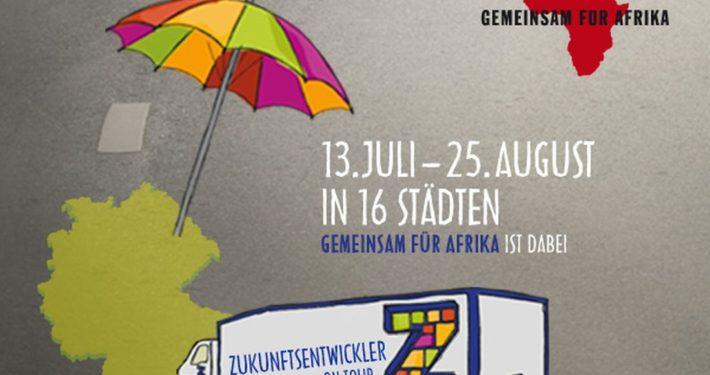 """GEMEINSAM FÜR AFRIKA: Tour """"Zukunftsentwickler"""" mit BMZ_GEMEINSAM FÜR AFRIKA"""