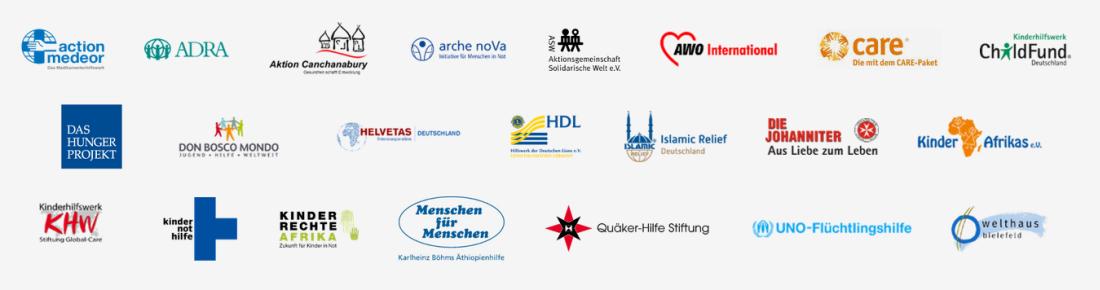 Bündnisorganisationen Gemeinsam für Afrika