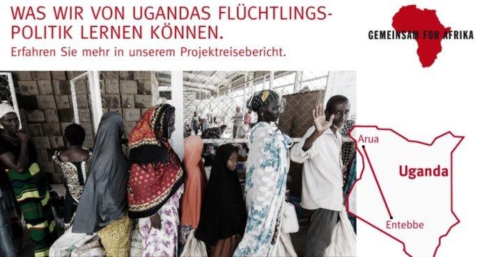 YouTuber-Reise nach Uganda 2016._©GEMEINSAM FÜR AFRIKA