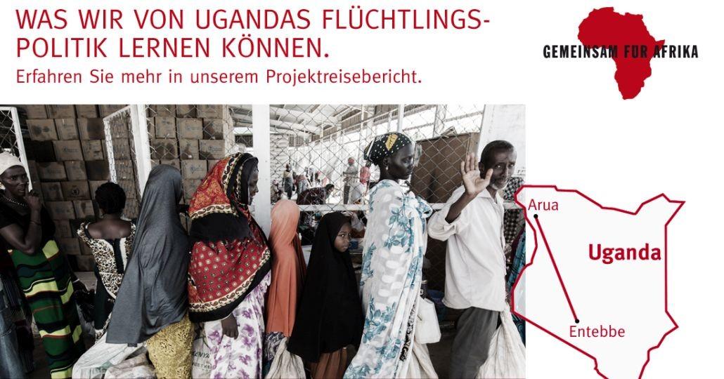 Briefe Nach Uganda : Reise nach uganda gemeinsam fÜr afrika