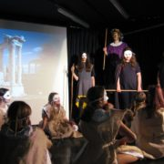 Schulaktion für GEMEINSAM FÜR AFRIKA: Theateraufführung Konzert