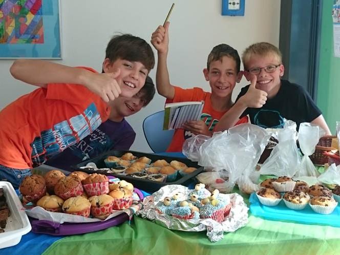 Kuchenverkauf Bertha-von-Suttner-Schule Nidderau