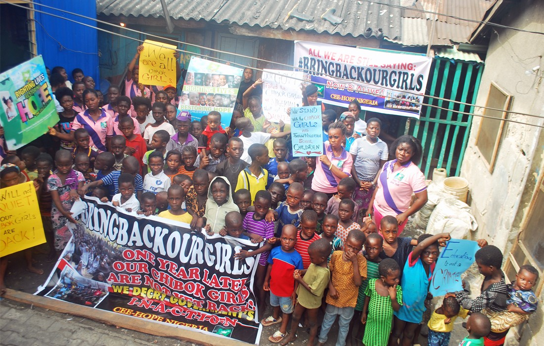 Nigeria Bring Back Our Girls Freilassung von Mädchen