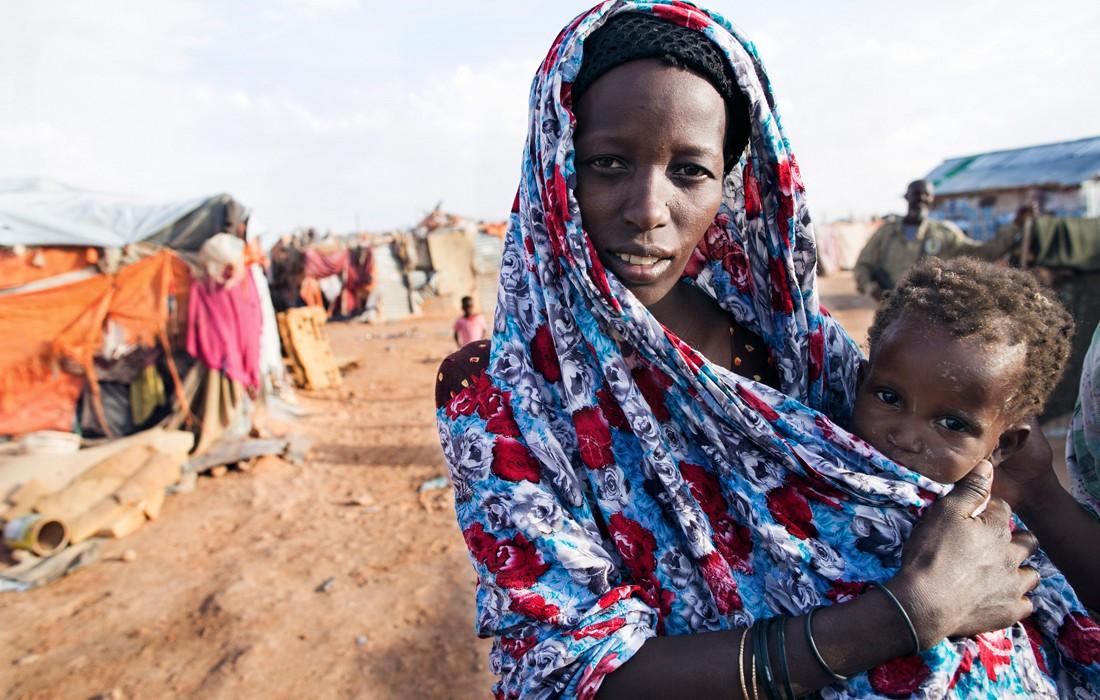 Somalia Hungersnot Ostafrika Flüchtlingscamp