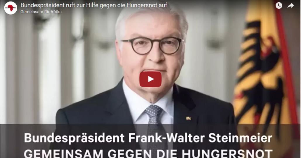 Screenshot Videobotschaft Bundespraesident