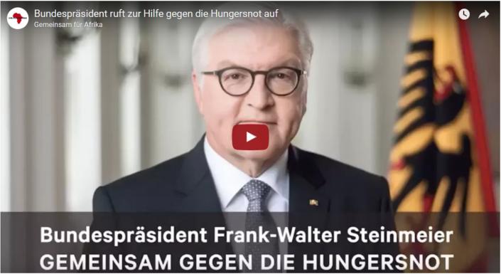 Screenshot Videobotschaft Bundespraesident