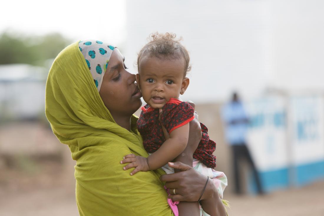 Frauen und Kinder Gemeinsam für Afrika