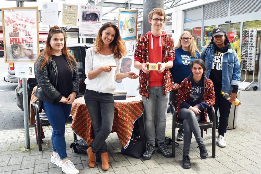 Realschule am Kreuzberg in Netphen engagiert sich für GEMEINSAM FÜR AFRIKA
