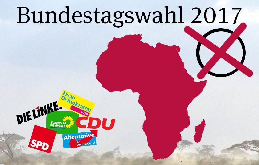Bundestagswahl 2017: Parteien und ihre Afrikapolitik