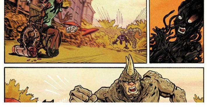 Das nigerianische Mädchen Ngozi wird zu Superheldin im Marvel-Universum. Foto: Marvel Comics