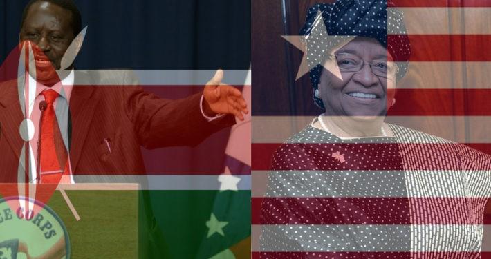 Odinga nimmt nicht an Neuwahlen in kenia Teil. Liberia sucht Nachfolger von Johnson Sirleaf.
