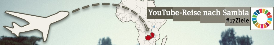 Fünf YouTuber reisen nach Sambia. Foto: GEMEINSAM FÜR AFRIKA
