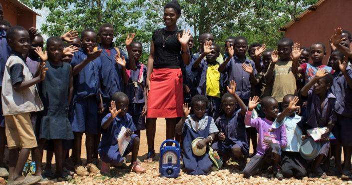 Sambia-Reise: Radioschule in Chikuni. Foto: GEMEINSAM FÜR AFRIKA