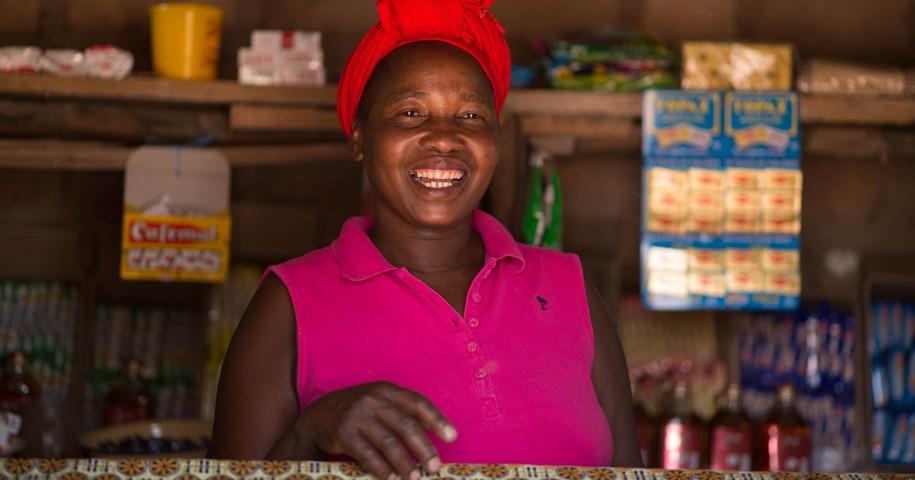 Sambia-Reise: Selbsthilfegruppe in Choma. Foto: GEMEINSAM FÜR AFRIKA