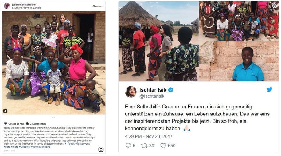 Sambia-Reise: Ischtar Isik über die Selbsthilfegruppe in Choma.