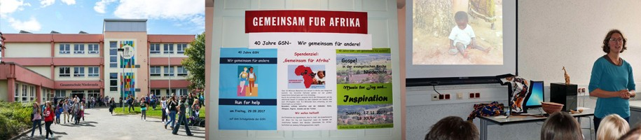 Gesamtschule Niederaula: Spendenaktion für GEMEINSAM FÜR AFRIKA