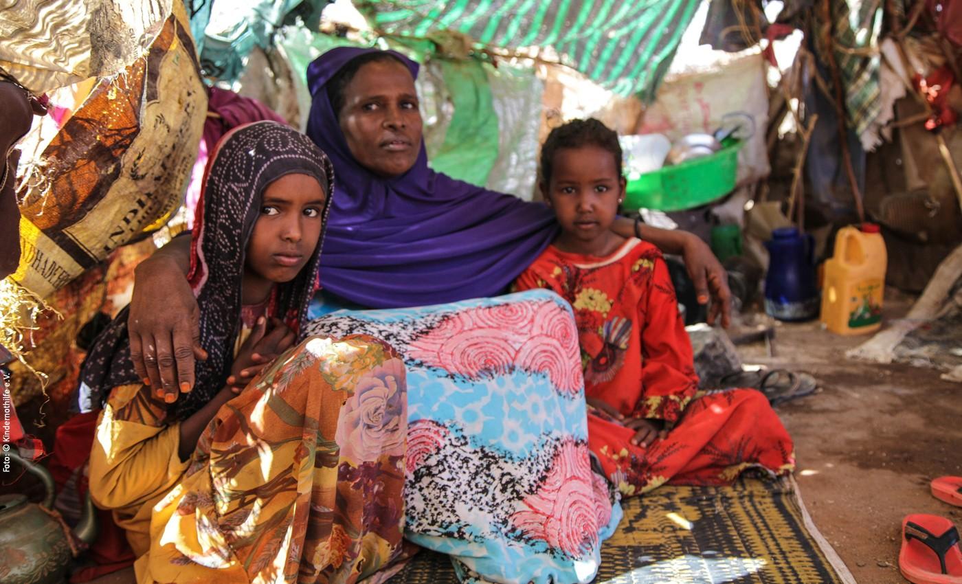 Naima und ihre Familie ©Kindernothilfe