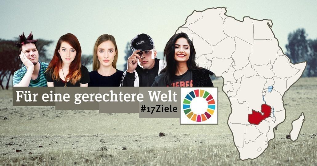 Projekt-Reise von GEMEINSAM FÜR AFRIKA nach Sambia mit fünf YouTubern._©GEMEINSAM FÜR AFRIKA