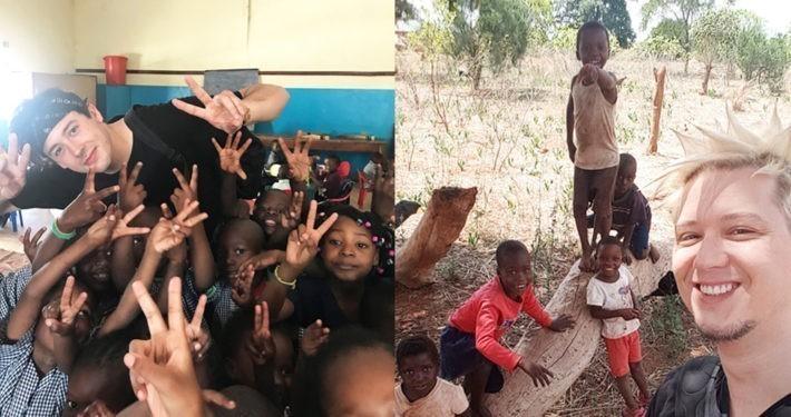 Die YouTuber CrispyRob & Manniac starten Spendenaktion für GEMEINSAM FÜR AFRIKA._© CrispyRob & Manniac