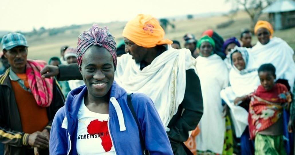 Ivy Quainoo ist Botschafterin von GEMEINSAM FÜR AFRIKA._©GEMEINSAM FÜR AFRIKA