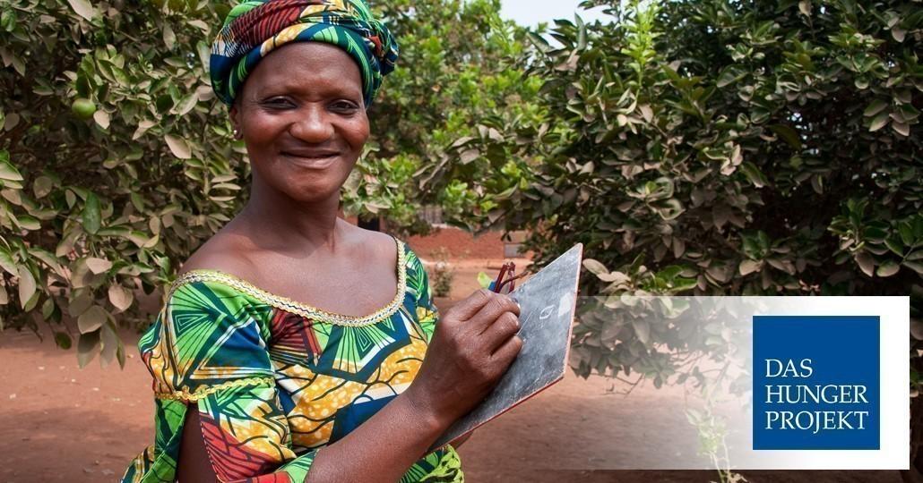 Das Hunger Projekt ist Mitglied von GEMEINSAM FÜR AFRIKA. Foto: Das Hunger Projekt
