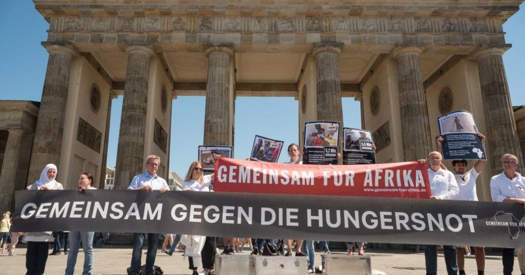 GEMEINSAM FÜR AFRIKA Straßenaktion:_©GEMEINSAM FÜR AFRIKA/Jonas Walter