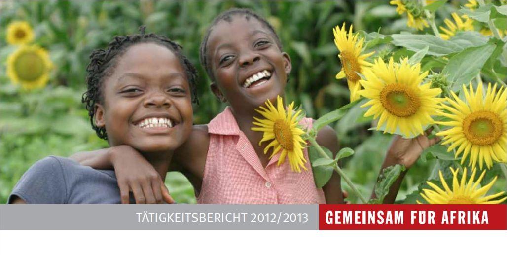 Jahresbericht GEMEINSAM FÜR AFRIKA12/13._©GEMEINSAM FÜR AFRIKA