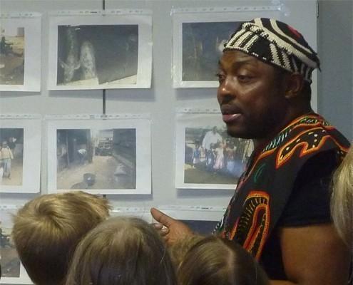 Afrika-Referent Dorince Zeufack © GEMEINSAM FÜR AFRIKA/Dorince Zeufack