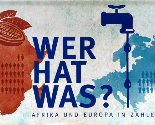 Flyer: Wer hat was? Das Verteilungsspiel ©GEMEINSAM FÜR AFRIKA