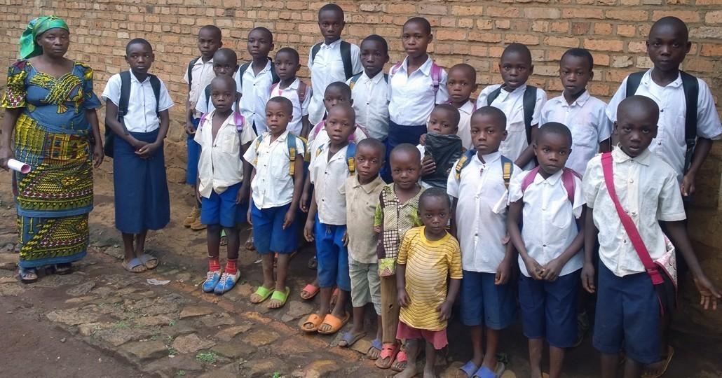 Rohstoffkonflikt: Kinder in Kanyola (Kongo) erhalten durch ChildFund Deutschland e.V. die Chance auf einen Schulbesuch._©ChildFund Deutschland e.V.