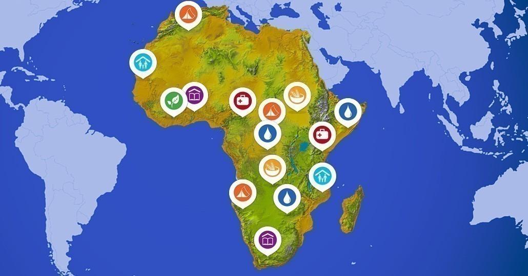 Projekte unserer Mitgliedsorganisationen in Afrika._©GEMEINSAM FÜR AFRIKA