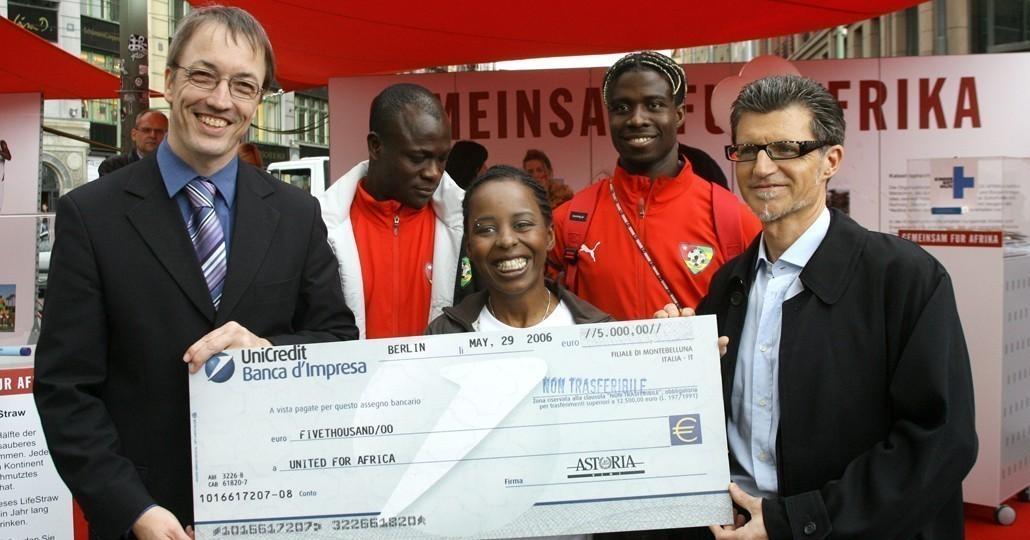 Unternehmen unterstützen die Projekte von GEMEINSAM FÜR AFRIKA._©GEMEINSAM FÜR AFRIKA