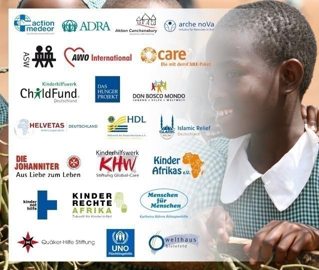 Die Mitgliedsorganisationen von GEMEINSAM FÜR AFRIKA._©GEMEINSAM FÜR AFRIKA