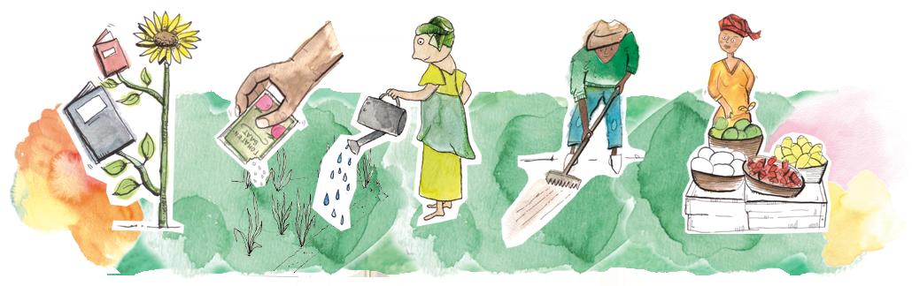 Bildung, klimabeständiges Saatgut, verbesserte Anbaumethoden und Bewässerung sowie eine effizente Ernte und Lagerung sichert Ernährung langfristig.