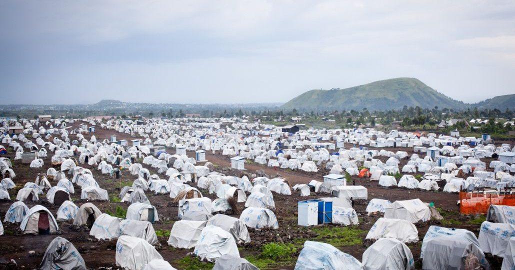 Flüchtlingsunterkünfte unserer Mitgliedsorganisation UNO-Flüchtlingshilfe in der DR Kongo._©Herzau©GEMEINSAM FÜR AFRIKA/Andreas Herzau