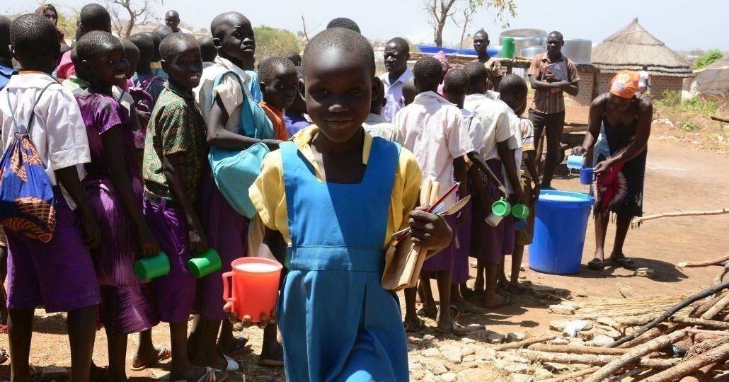 Uganda: Lebensmittel und Gesundheitsfürsorge für Flüchtlinge© AWO International e.V. / Felix Neuhaus