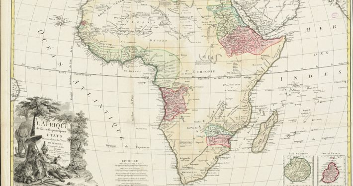 Landkarte Afrika - CC BY 2.0 L'Afrique divisée en ses principaux états, Norman B. Leventhal Map Center, https://www.flickr.com/photos/normanbleventhalmapcenter/20748221221/