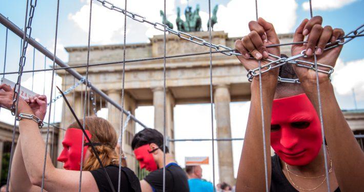 Sklavenmarkt in Berlin_©GEMEINSAMFÜRAFRIKA/Steffen Junghanß